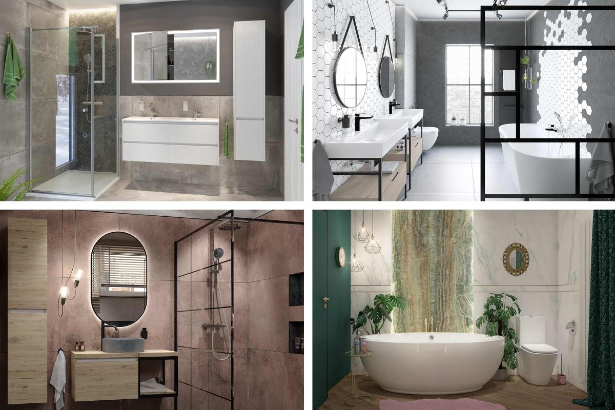 Badezimmer Ideen Musterbäder von HORNBACH