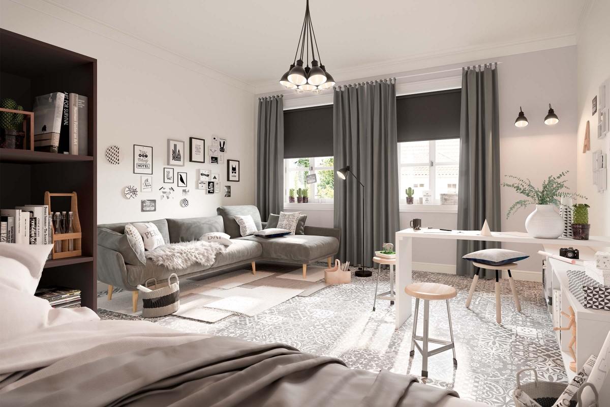 Wohnzimmer einrichten & gestalten mit HORNBACH