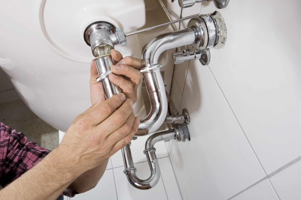 Waschbecken Abfluss Montieren Anleitung Von Hornbach