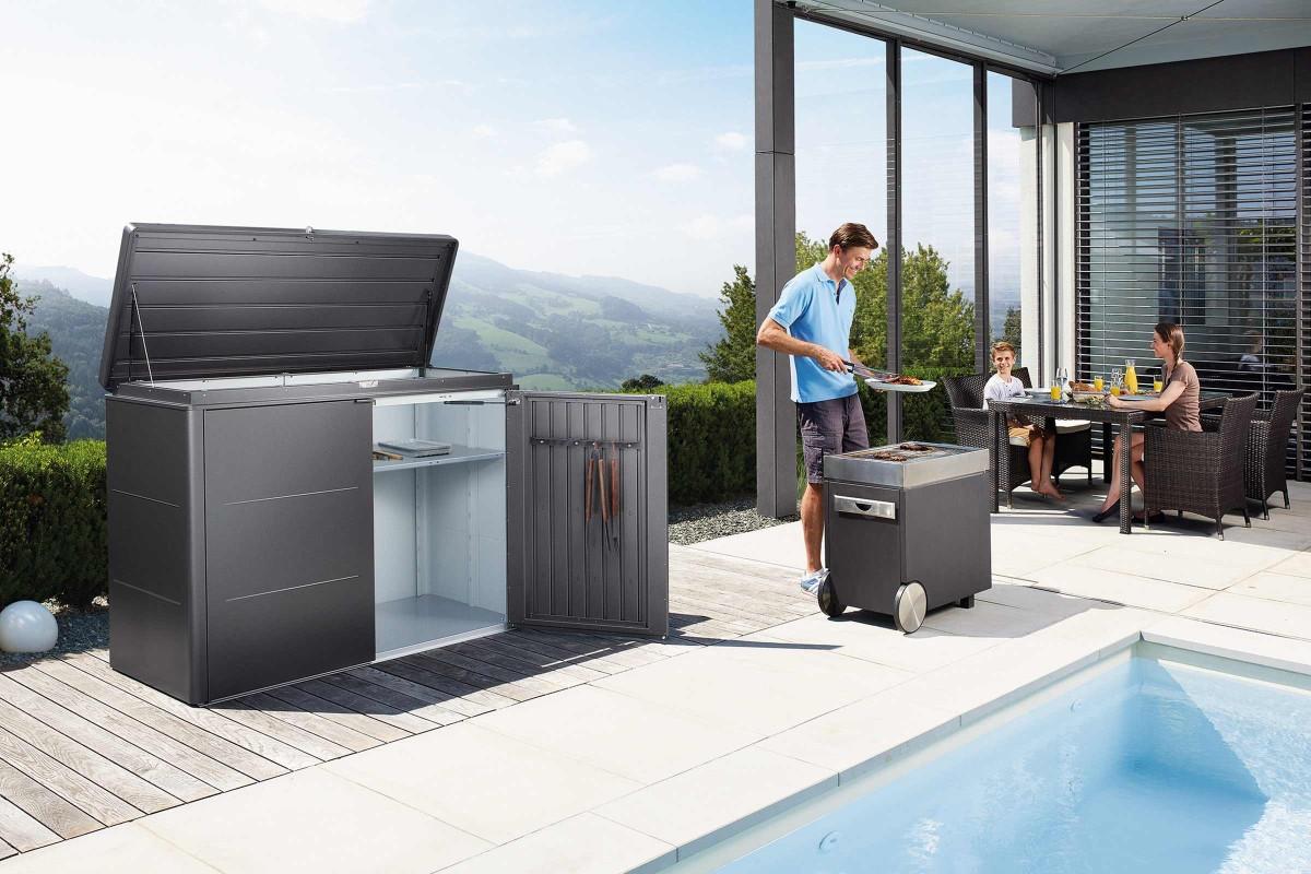 Inspiration Holz Stein Terrasse 1