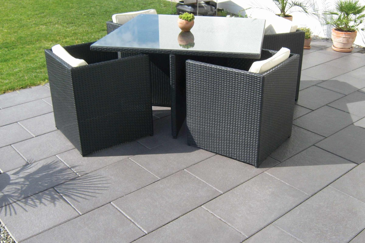 Inspiration Terrassenplatten Beton 3