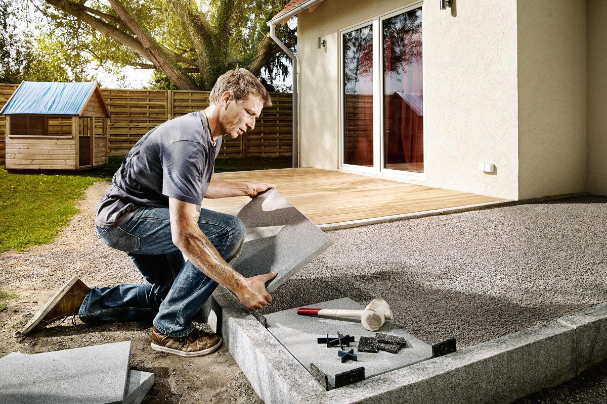 Inspiration Holz Stein Terrasse 6