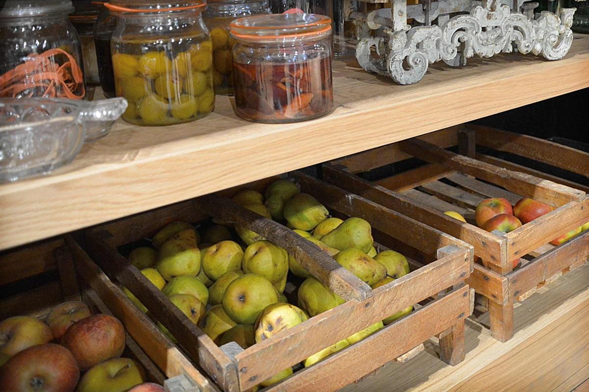 Obst Lagerung