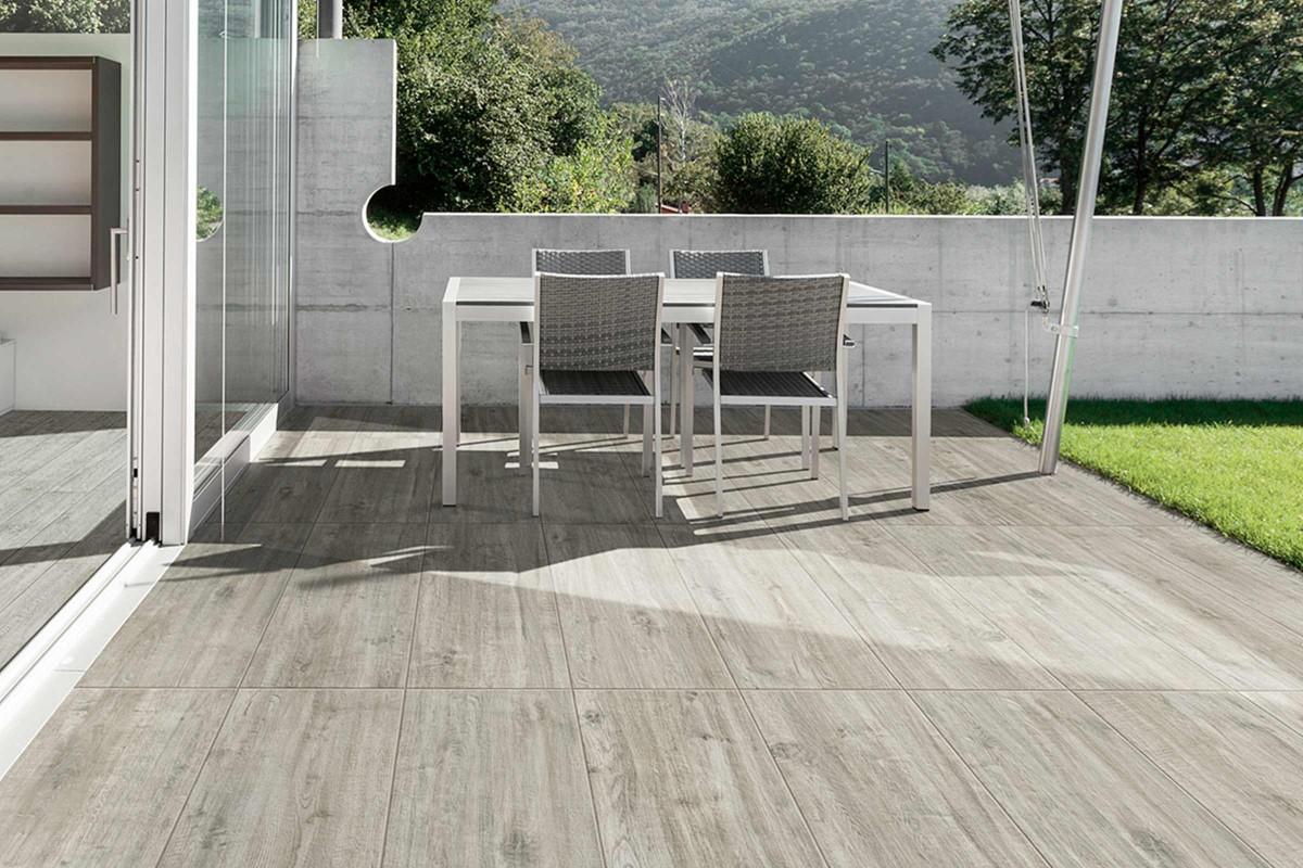 Inspiration Terrassenplatten Feinsteinzeug 12