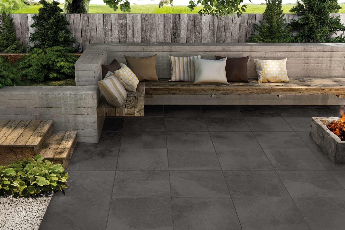 Inspiration Terrassenplatten Feinsteinzeug 8