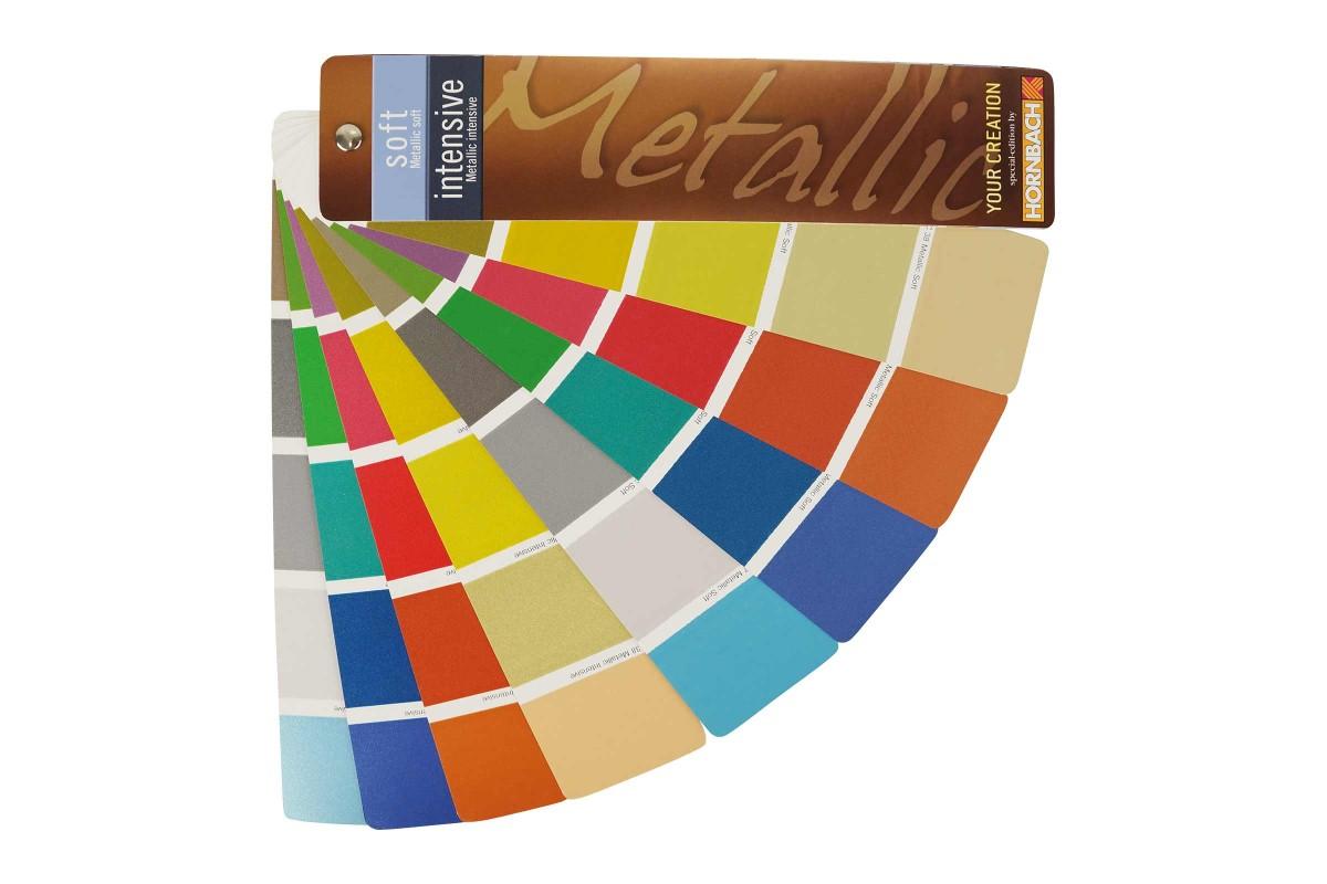 Farbtonfaecher Verleih HORNBACH Metallic Soft Intensive