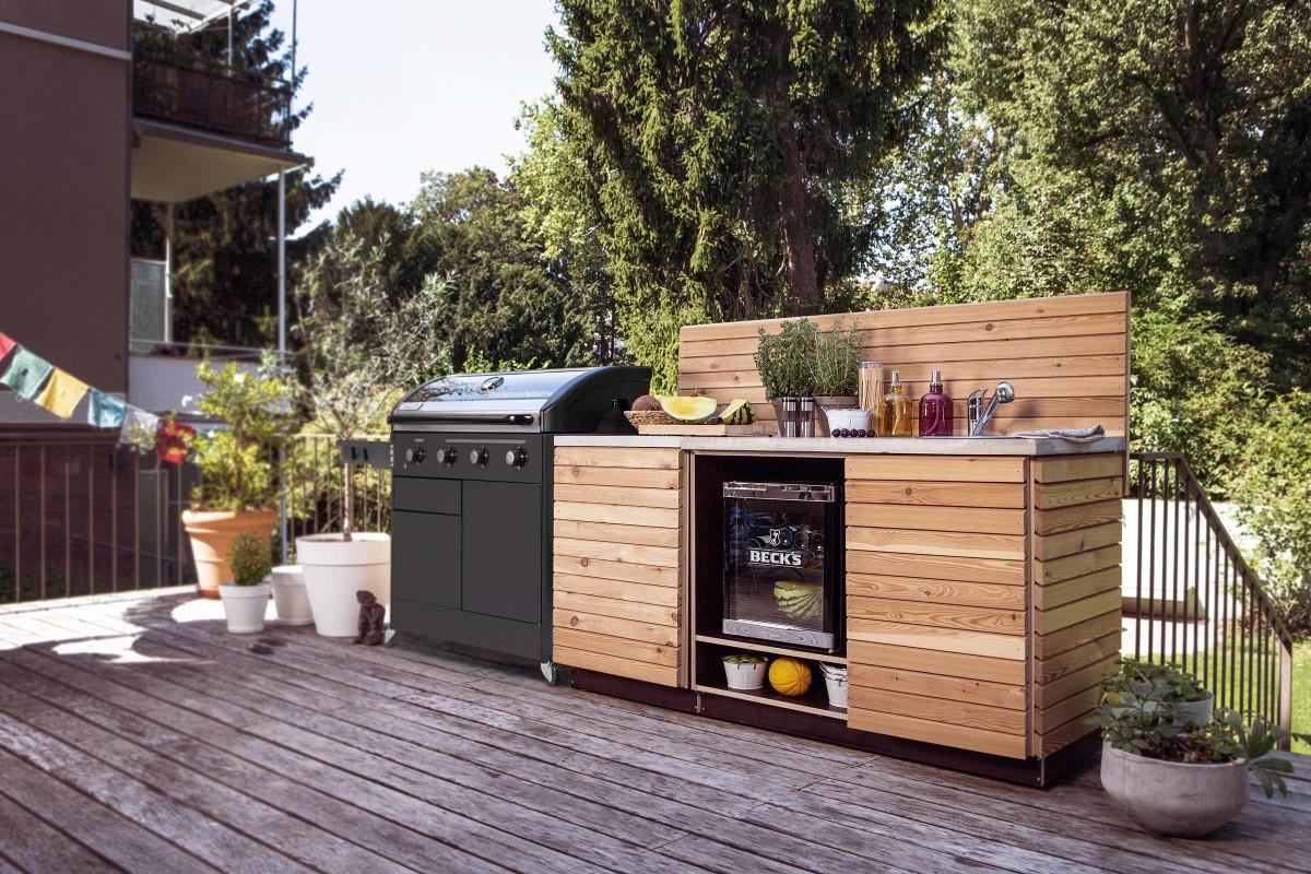Outdoor Küche selber bauen   Anleitung von HORNBACH