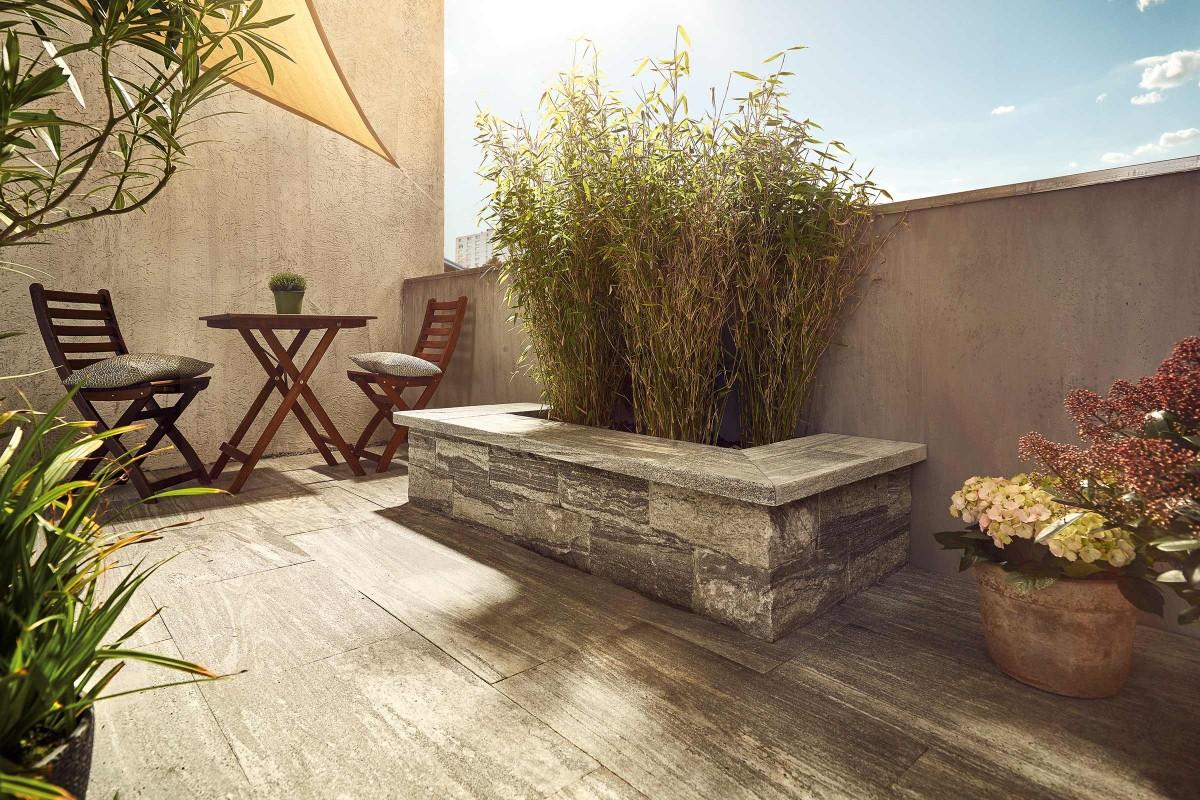 Inspiration Terrassenplatten Naturstein 1
