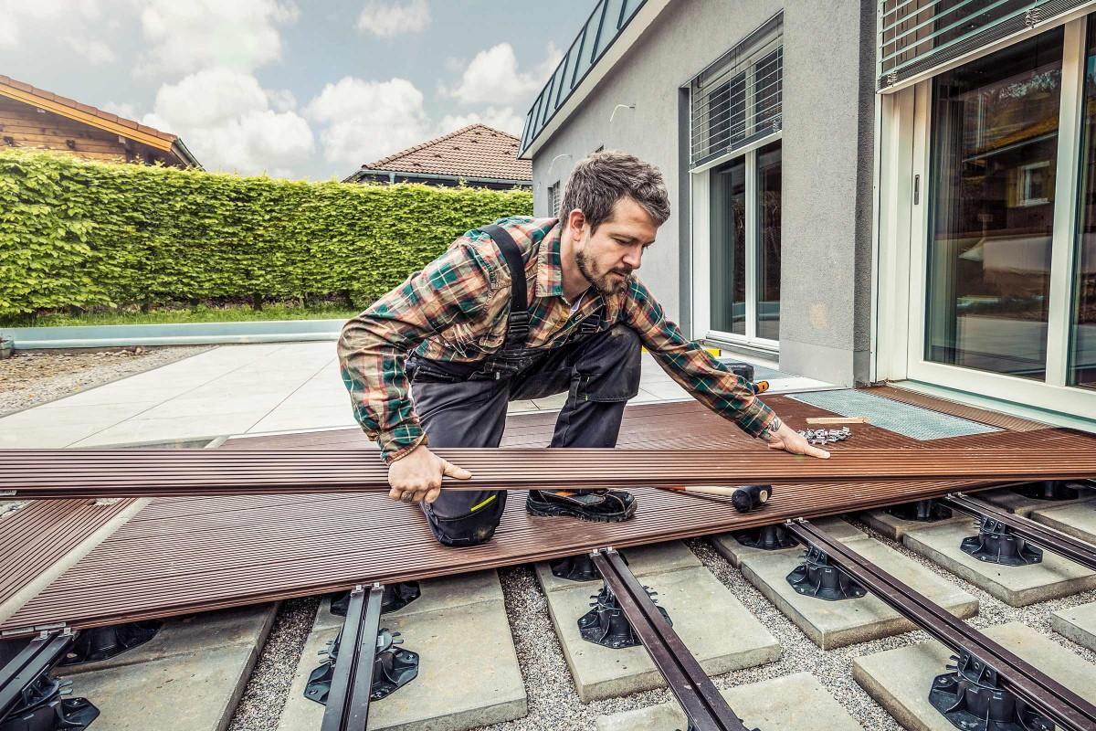 Inspiration Holz Stein Terrasse 5