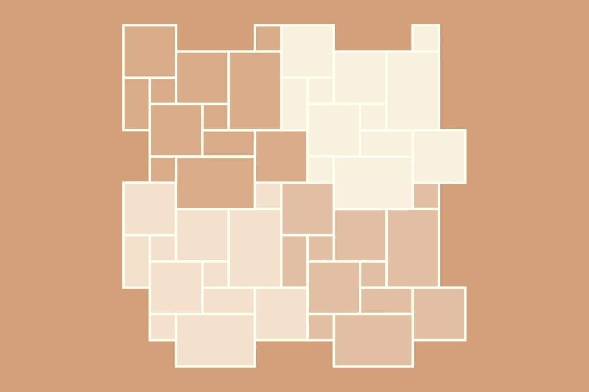 Terrassensteine Verlegemuster Roemischer Verband 4 Formate