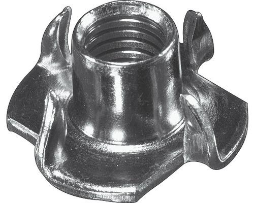Einschlagmutter 4 x 6 mm, galv.verzinkt, 10 Stück