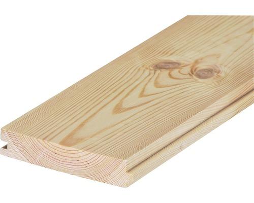 Nut und Federbrett Kiefer roh B-Sortierung 27x146x3000 mm