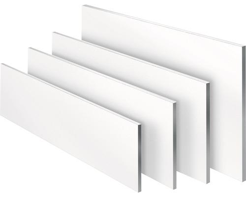 Regalboden weiß 16x250x800 mm
