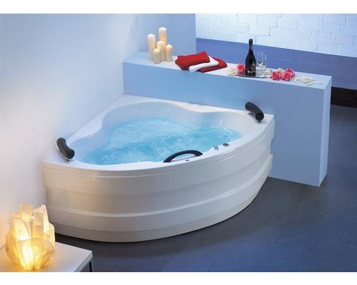 Whirlpool Samba Mit Farblichtwechsler Nackenstützen Und Griff 140x140 Cm Weiß Bei Hornbach Kaufen