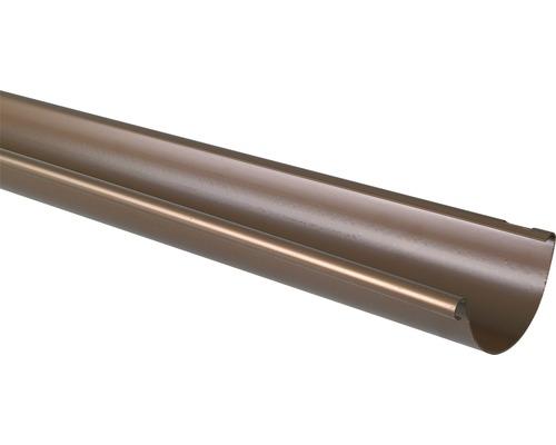 Marley Dachrinne Nennweite 100mm kupferton Länge: 2,00m