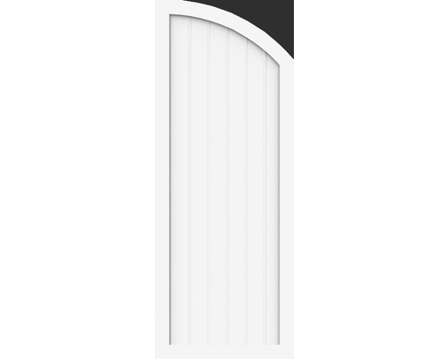 Abschlusselement Basic Line Typ H li 70x180/150 cm