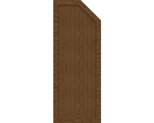 BasicLine, Typ E, rechts, golden oak,70x180/150x4,8 cm