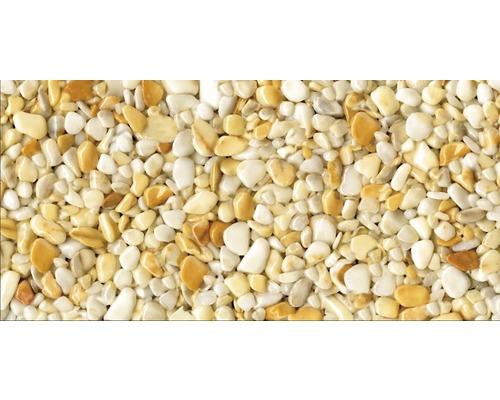 Steinteppich-Set 1 m² Ravello Groß (8-10 mm) Gelb Innenbereich - Boden