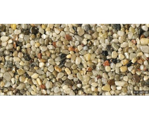 Steinteppich-Set 1 m² Ravello Groß (8-10 mm) Natur Innenbereich - Boden