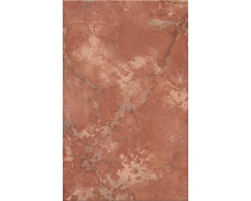 Steingut Wandfliese Toscana Coral 25 x 40 cm