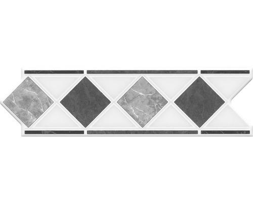 Bordüre HP1 Marmor Grau 20x6 cm