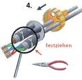Dosenmuffe für Kabelverbindungen