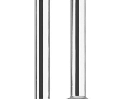 Kupferrohr Ø 10x500 mm verchromt