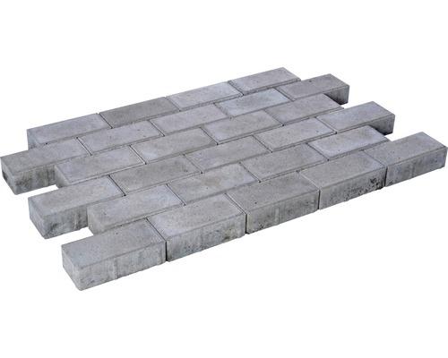 Rechteckpflaster Grau 20x10x8 cm