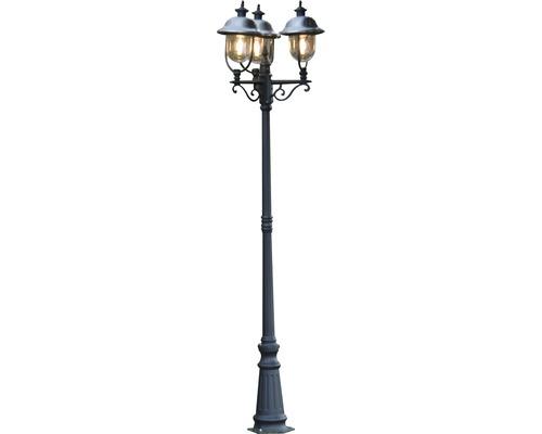 Kandelaber Parma 3-flammig schwarz, H: 2,18 m