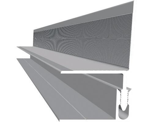 Wandabschluss Aluminium 2500x40x40 mm