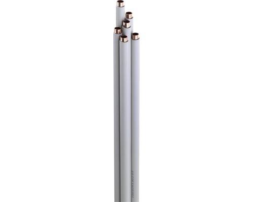 Kupferrohr ummantelt als Stange 12 x 1 mm 2,5 m