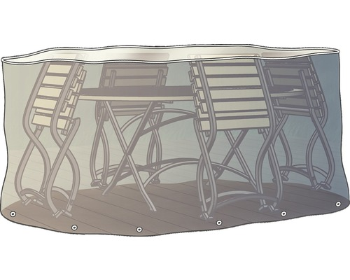 Schutzhülle für Sitzgruppe oval 230cm