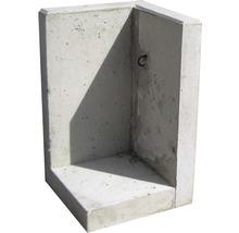 Winkelstütz-Ecken 50x50x50x10cm Sichtbeton