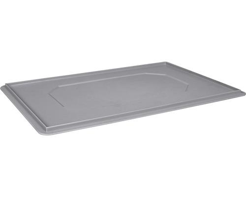 Deckel zu Stapelbox/Stapelkorb 600x20x400 mm grau