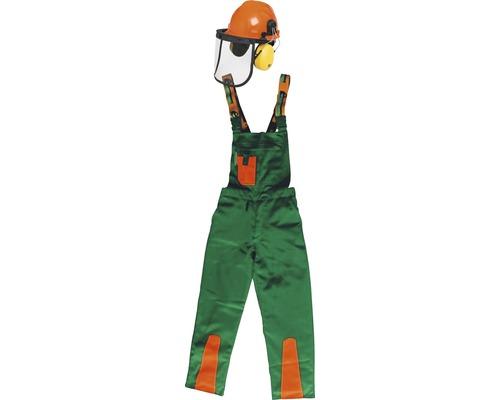 Schnittschutz-Set grün/orange Gr. 58