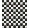 Keramikmosaik BM 148 30,2x33 cm schwarz/weiß