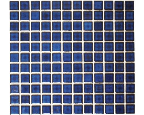 Keramikmosaik M 451 30,2x33 cm blau