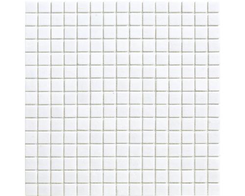Glasmosaik A 11 weiß 30,5x32,7 cm