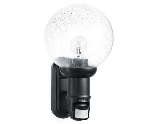 Steinel Sensor Außenwandleuchte L560S schwarz 1-flammig 368x215 mm