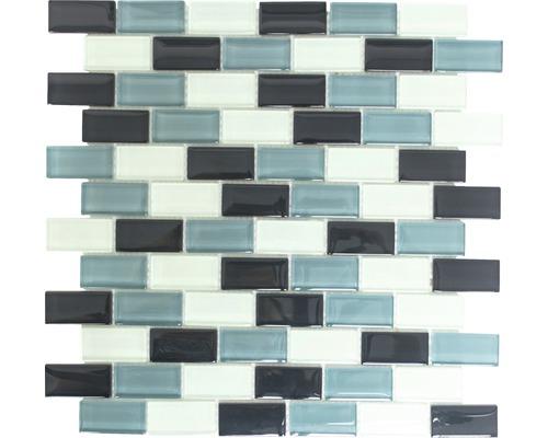 Crystal-Glasmosaik XCM B825 2,5x5 cm