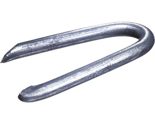 Schlaufen (Krampen) 2,0 x 20 mm galv.verzinkt, 1 KG
