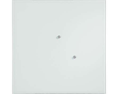 Glas-Memoboard weiss 50x50 cm