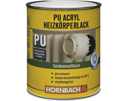 Acryl-Heizkörperlack seidenmatt weiß 2 l