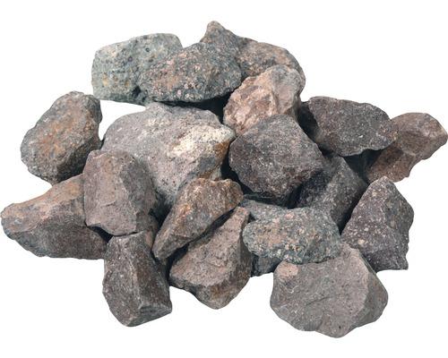 Bruchstein rot 32-56mm, 20kg
