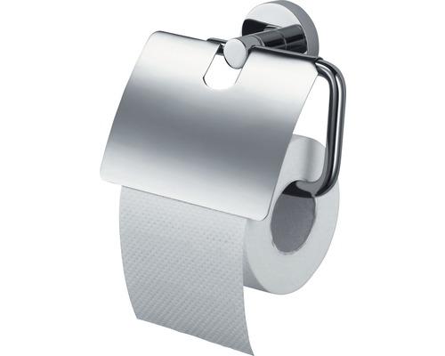 Toilettenpapierhalter mit Deckel HACEKA Kosmos chrom