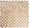 Natursteinmosaik MOS 15/1513R 30,2x32,5 cm beige/Cotto
