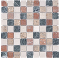 Marmor-Natursteinmosaik Random 3,2x3,2 cm