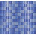 Glasmosaik XCM 8222 30,2x32,7 cm blau