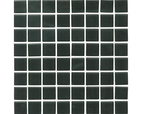Glasmosaik XCM 8050 30,2x32,7 cm schwarz