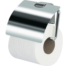 Toilettenpapierhalter mit Deckel Spirella Max light chrom
